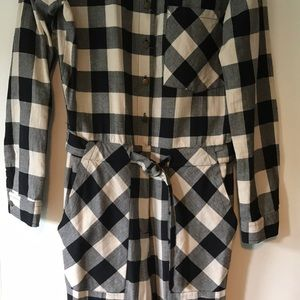 d3cee4a4fabb Forever 21 Pants - Forever 21 Buffalo Plaid Jumpsuit